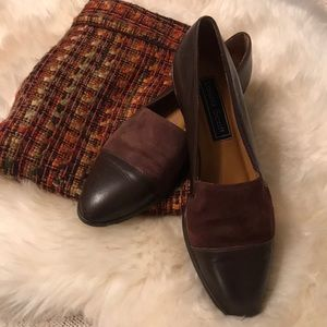 Leather & Suede Flats 8.5